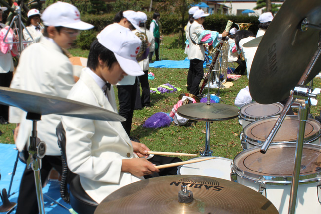 NAKANOJO junior high school brass band